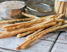 Grissini: Sea Salt and Sesame